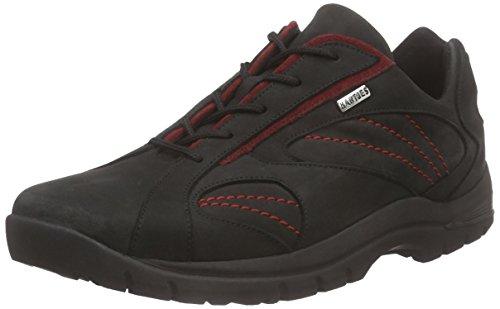 Hartjes Fitness Walking, Chaussures de fitness mixte adulte Noir - Schwarz (schwarz/flame 1/28)