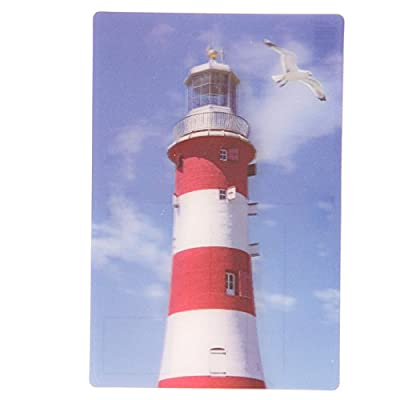 Seaside Lighthouse 3D Postcard (Buy one get one free)