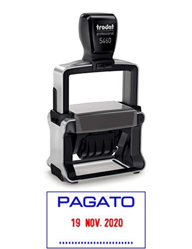 DATA METAL 5460 CON FORMULA BICOLORE PAGATO