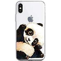 Oihxse Funda iPhone SE 2020/iPhone 7/iPhone 8, Ultra Delgado Transparente TPU Silicona Case Suave Claro Elegante Creativa Patrón Bumper Carcasa Anti-Arañazos Anti-Choque Protección Caso Cover (A15)