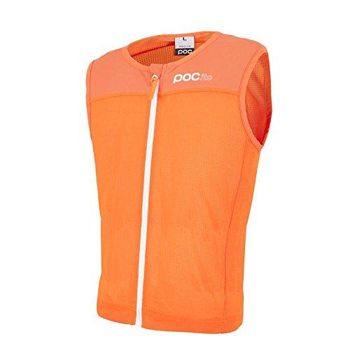 POC Protektor Pocito VPD Spine Vest, Erwachsene Unisex, Fluorescent Orange, L