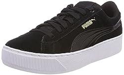 Puma Damen Vikky Platform Sneakers, Schwarz Black White, 40 EU