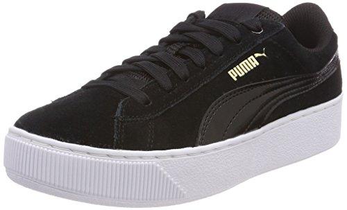 Puma Vikky Platform, Zapatillas para Mujer, Negro (Puma Black-Puma White 05), 39 EU