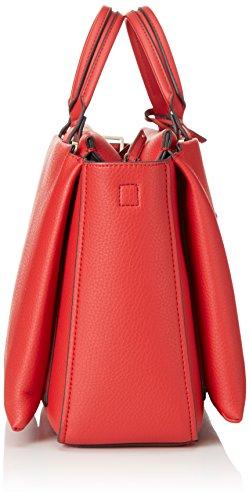 Calvin Klein Jeans - Carri3 Duffle, Borsa con Maniglia Donna Rosso (Rot (LIPSTICK RED 635))