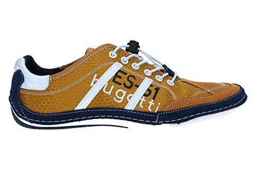Bugatti Herren 321480066900 Sneaker Gelb (giallo)