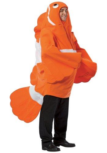 Clownfish - Adult Kostüm (Kostüm Nemo Erwachsene)