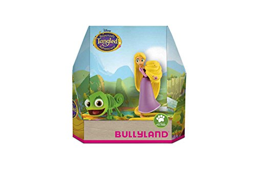 Bullyland 13461 - Spielfigurenset, Walt Disney Rapunzel - Rapunzel und Pascal