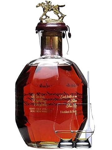 Blantons Single Barrel Gold Edition 0,7 Liter + 2 Glencairn Gläser + Einwegpipette 1 Stück