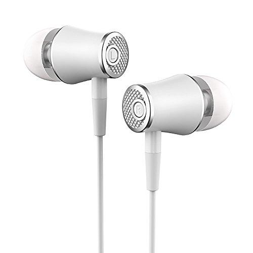 Universal 3,5-Mm-In-Ear-Stereo-OhrhöRer KopfhöRer Mit Kabelmikrofon-Headset Universal Alle Mobiltelefone Earphones Mit Einstellbarer LautstäRke Dj-KopfhöRer