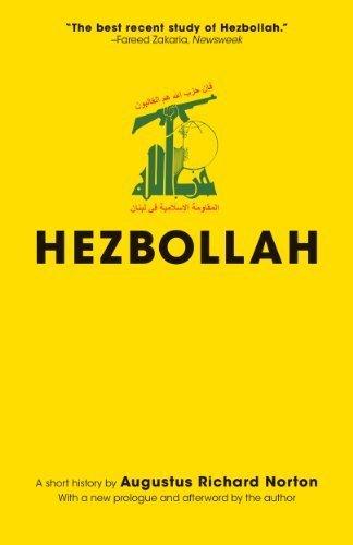 Hezbollah: A Short History (Princeton Studies in Muslim Politics) by Norton, Augustus Richard (2014) Paperback