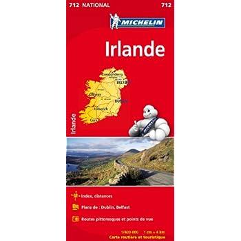 Carte NATIONAL Irlande