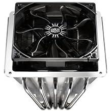 Cooler Master GeminII SF524 - Ventilador de PC (Enfriador, Procesador, 40000h, Negro, Plata, 0,10A, 1,2W)