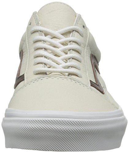 Vans Unisex-Erwachsene Old Skool Reissue Sneakers (leather) blanc