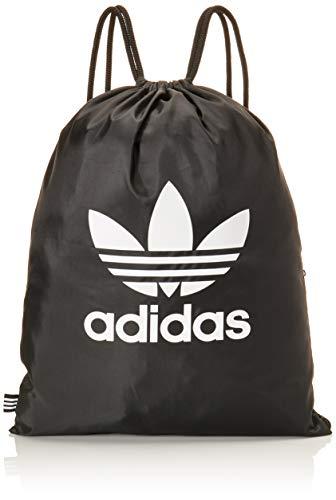 adidas bk6728, zaino a sacchetto unisex adulto, nero, 2 x 37 x 46 cm