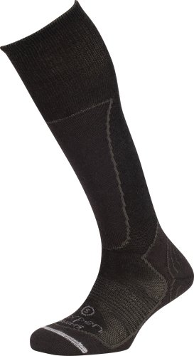 Lorpen Damen Ski Merino/Seide Mischung Light Socken Wandersocken TCXTM, damen, schwarz (Ski Merino Lorpen Socken)