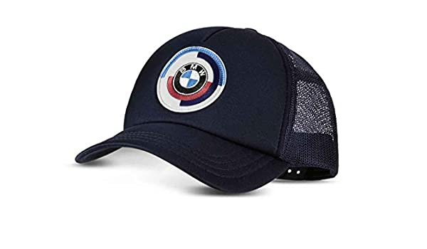 BMW Genuine Classic Motorsport Adjustable Cap Hat in Dark Blue 80162463120