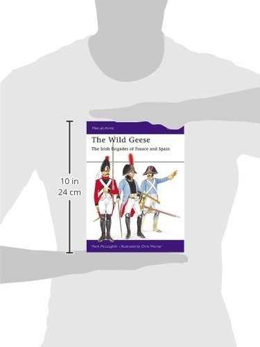 The Wild Geese: The Irish Brigades of France and Spain (Men-at-Arms)
