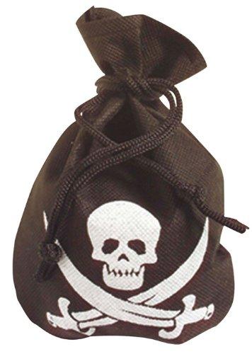 Piraten Beutel als Kostümzubehör für dein Seeräuberkostüm (Piraten Beutel)