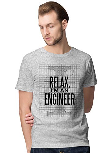 Relax I'm Engineer Blueprint Slogan Herren T-Shirt (Engine Shirt Thomas Tank)