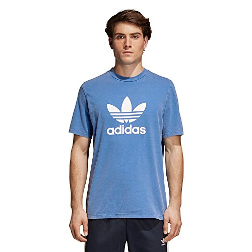Adidas cw0703, t-shirt uomo, blue, l