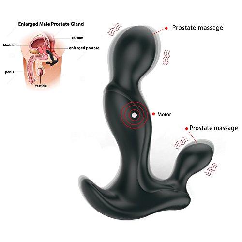 Plug Prostata Massage Wellness Männer Prostata Stimulator Sexspielzeug Analspielzug ihn prostata xxl für Männer and für Frauen Haushaltswaren