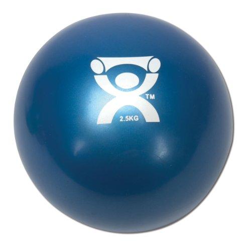 Preisvergleich Produktbild Cando® Gewichtsball,  blau,  2, 5kg