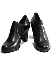 Dorking 6906 Zapato abotinado negro
