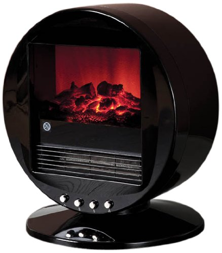 Fine Elements Desktop Flame Effect Heater, 2000 Watt