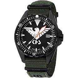 KHS Tactical Watches MissionTimer 3   Eagle One KHS.MTE.NXTO1 Militär Armbanduhr