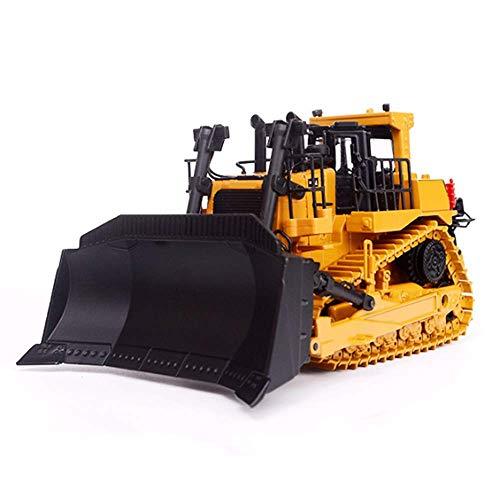 QHWJ Bulldozer-Bagger-Spielzeugmodell, voll ausgestattetes Frontlader-Kipper-Spielzeug für Raupen-Baufahrzeuge, Jungen-Mädchen-Geburtstagsgeschenk