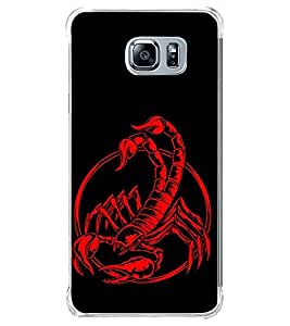 Scorpion 2D Hard Polycarbonate Designer Back Case Cover for Samsung Galaxy Note5 :: Samsung Galaxy Note5 N920G :: Samsung Galaxy Note5 N920T N920A N920I