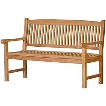 massive gartenbank messina aus teakholz 110cm wetterfest nachhaltiges plantagenholz. Black Bedroom Furniture Sets. Home Design Ideas