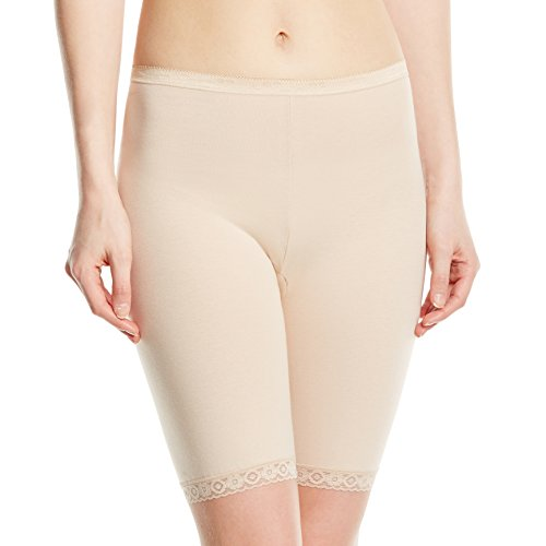 Sloggi Women's Basic Long Brief, Beige (Skin), Size 18
