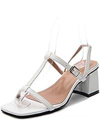 Pump 7cm Chunkly Ferse Slingbacks Sandalen Kleid Schuhe Frauen Einfache Reine Farbe Offene spitze D'orsay T-Riemen...
