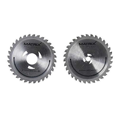 Twin blade Stahl Paar, 120400191 (Matrix-twin)