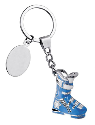 Ten Skischuh Schlüsselring cod.EL7061 cm 3,5x11x1,2h by Varotto & Co.