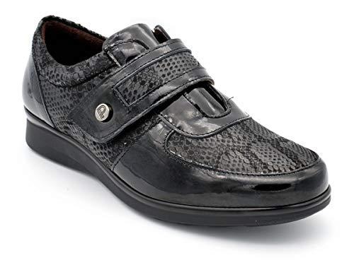 Zapato Velcro Sport PITILLOS I19 M-5702-36 EU - Negro