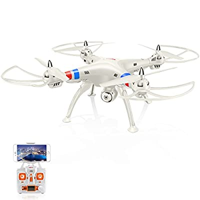 Syma X8W FPV Real-Time RC Quadcopter Drone Copter with HD Camera