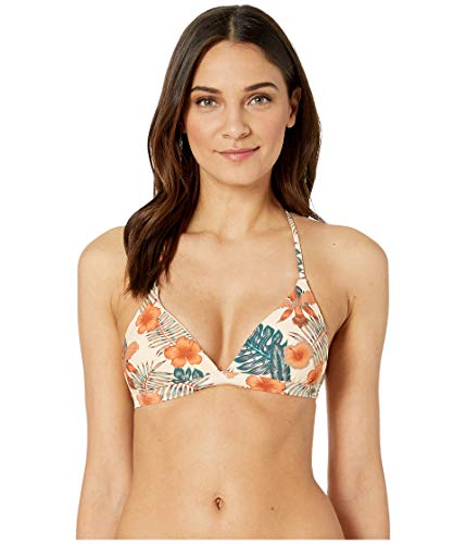 Roxy Women's Printed Strappy Love Reversible Fixed Tri -
