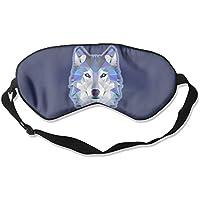Comfortable Sleep Eyes Masks Blue Wolf Pattern Sleeping Mask For Travelling, Night Noon Nap, Mediation Or Yoga preisvergleich bei billige-tabletten.eu
