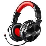 OneOdio Bluetooth Kopfhörer Over Ear, Kabellos HiFi Kopfhoerer mit abnehmbarem Mikrofon, Wired Gaming Headest für PS4, Xbox, PC, Phones, Büro Headphone, 30 Std Spielzeit( Nur Wired für Gaming)