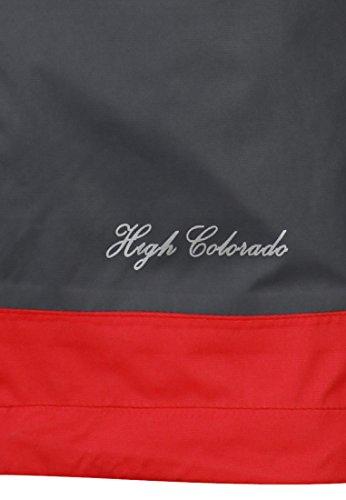 High Colorado Kansas L–Giacca outdoor Donna anthrazit-hellrot