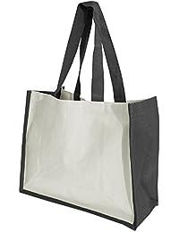 Westford Mill Printers Jute-Tasche / Shopper / Einkaufstasche, 21 Liter