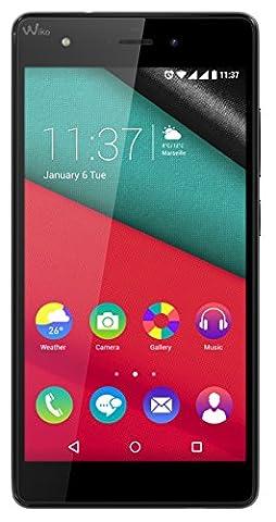 Wiko Pulp 3G Smartphone (12,7 cm (5 Zoll) HD IPS-Display, 1,4 GHz Octa-Core-Prozessor, 16GB interner Speicher, 2GB RAM, Android 5.1 Lollipop)