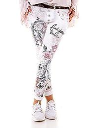 9f050a3345ef Wholefashion New Brand Pant SkinnyJeans Weiß Boyfriend Hose Chino Garden