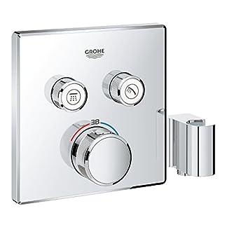 41kIx9fpKbL. SS324  - Grohe Grohtherm SmartControl Termostato para ducha con 2 chorros regulables y soporte para ducha