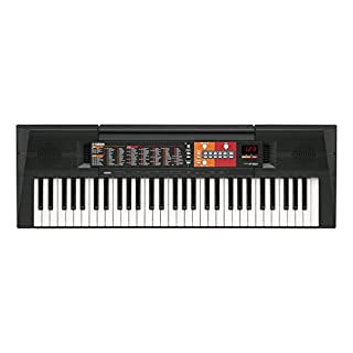 Yamaha PSRF51 Electronic Keyboard - Black
