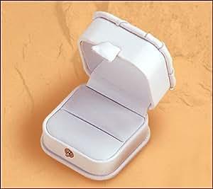 Single Ring Box. White,