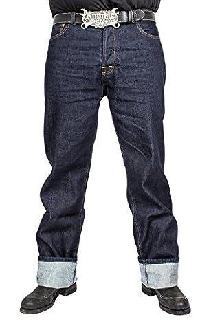 Rumble59 - Jeans - Homme bleu bleu foncé - bleu - W32