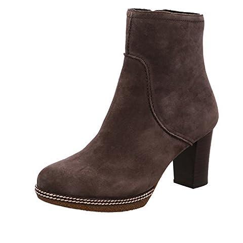 Gabor Shoes Damen Comfort Sport Stiefel, Grau (39 Dark-Grey (Micro)), 39 EU